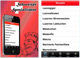 Swiss specialities